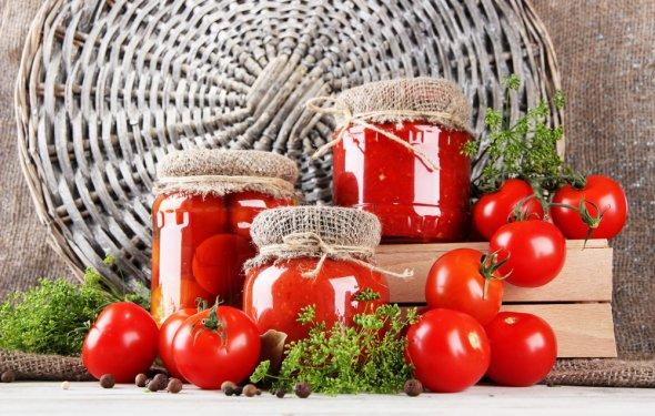 Как консервировать помидоры:
