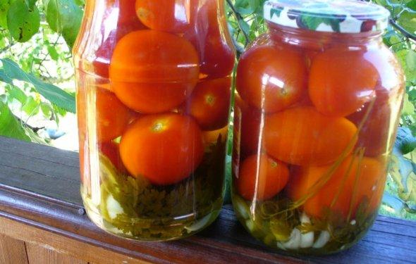 Консервирование помидоров на