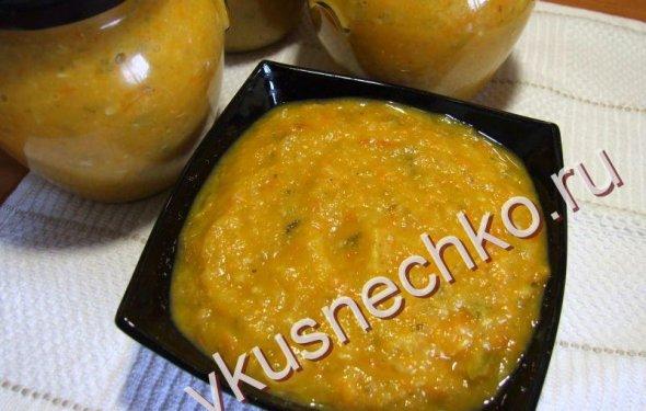пошаговый рецепт Кабачковая